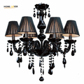 Top QualitySmall Black glass chandelier (WH-CY-22)