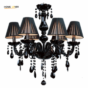 China Small Black glass chandelier (WH-CY-22) retail
