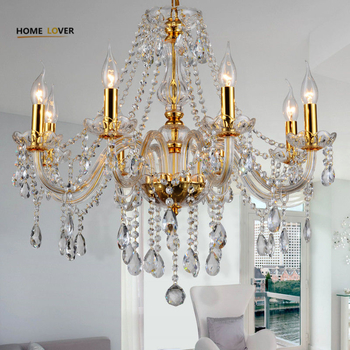 Simple gold chandelier light fixture (WH-CY-20) - Wellhouselighting.com