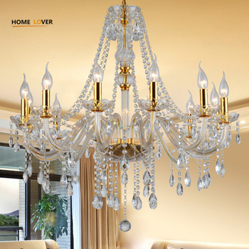 Simple gold chandelier light fixture (WH-CY-20)