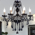 Top QualityBlack hanging crystal chandelier dining room on sale (WH-CY-18)
