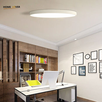 Black/White Modern Led Ceiling Lights For Living Room Bedroom AC85-265V Indoor lighting Ceiling Lamp - Wellhouselighting.com