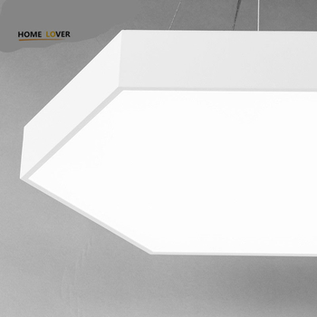 Modern LED ceiling lights for home lighting Black/White Color art style lamparas de techo Living room Bedroom lights - Wellhouselighting.com