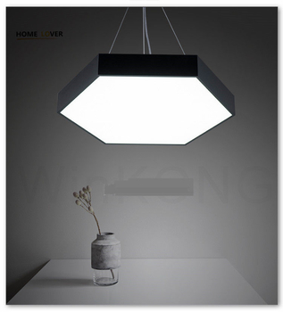 Modern LED ceiling lights for home lighting Black/White Color art style lamparas de techo Living room Bedroom lights