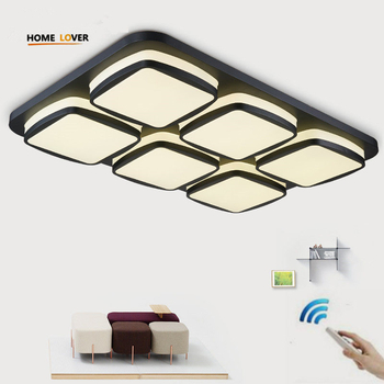 Modern Led Ceiling Lights For Living Room Bedroom Kitchen Light Fixture Indoor Lighting Home Decorate Lampshade - Wellhouselighting.com