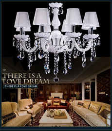 White sphere chandelier hanging light fixtures (WH-CY-17)