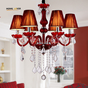 China Red crystal chandelier online purchase (WH-CY-13) retail
