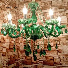 Contemporary Colored Bedroom Chandeliers (WH-CY-10)