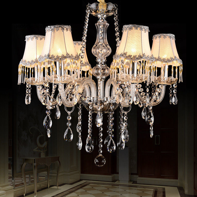 Glass Home Lighting Crystal Chandeliers (WH-CY-09)