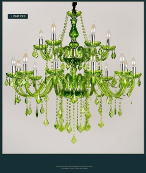 Beautiful Green Chandeliers For sale (WH-CY-07) - Wellhouselighting.com