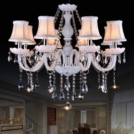 White chandelier ceiling light For Living room Bedroom Kitchen (WH-CY-07)