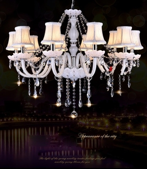 White chandelier ceiling light For Living room Bedroom Kitchen (WH-CY-07) - Wellhouselighting.com