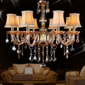 Top QualityMost popular chandeliers with lampshade for Living room Bedroom Lighting (WH-CY-05)