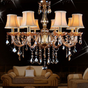 China Most popular chandeliers with lampshade for Living room Bedroom Lighting (WH-CY-05) retail