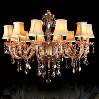 Most popular chandeliers with lampshade for Living room Bedroom Lighting (WH-CY-05) - Wellhouselighting.com