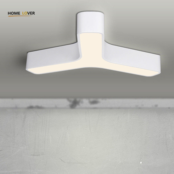 New Acrylic Dimming Ceiling Lights For Living Study Room Bedroom Home Dec plafonnier AC85-265V Modern Led Ceiling Lamp