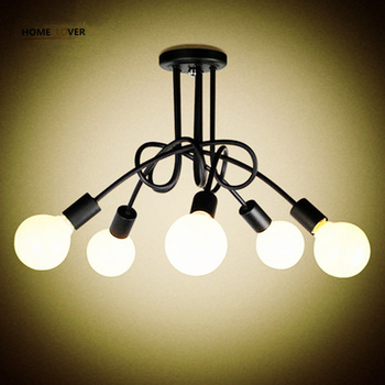 New Fashion Modern led ceiling lights American Countryside Dining Room Clothing store ceiling lamp