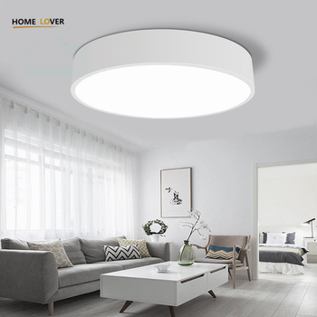 Modern LED Ceiling Light Indoor lighting round lustre de cristal teto	creative personality dining room balcony - Wellhouselighting.com
