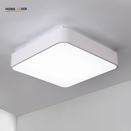 Led Ceiling lights for indoor lighting Black/White Color kitchen fixtures 12W modern ceiling lights for bedroom Kitchen