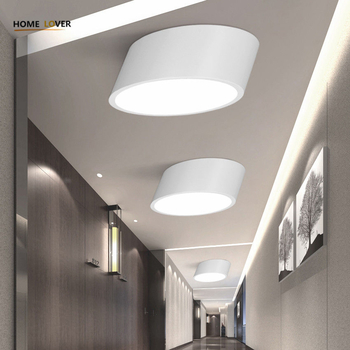 Ceiling light with remote control for indoor home lighting avize Black/White led ceiling light for Living room Kitchen