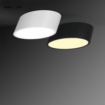 Ceiling light with remote control for indoor home lighting avize Black/White led ceiling light for Living room Kitchen - Wellhouselighting.com