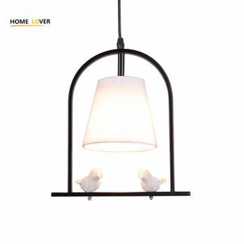 Modern Pendant lights indoor home lighting Iron Loft with Lampshade suspension light For Kitchen Dining room - Wellhouselighting.com
