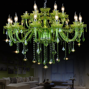 China Glass Green chandelier Lighting (WH-CY-04) retail