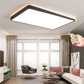 Ultra-thin Surface Mounted Modern Led Ceiling Lights lamparas de techo Rectangle acrylic/Square LED Ceiling lamp - Wellhouselighting.com