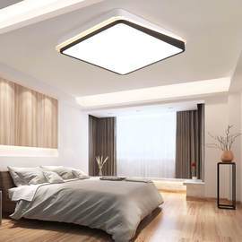 Ultra-thin Surface Mounted Modern Led Ceiling Lights lamparas de techo Rectangle acrylic/Square LED Ceiling lamp