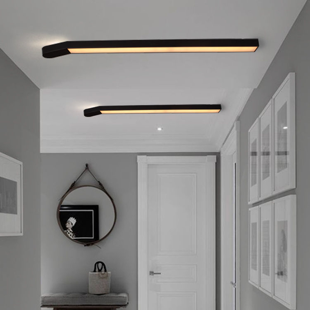 Hallway ceiling light for indoor home lighting Match shape luminaria led bedroom Kitchen plafonnier led moderne - Wellhouselighting.com