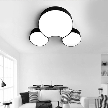 Modern Led Ceiling Chandeliers For Living Room Bedroom Square/Rectangle White/Black Home Modern Led Chandelier Fixtures