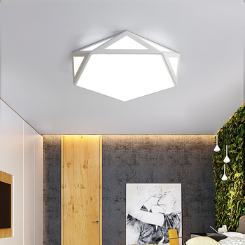 Creative Fashion Ceiling Lamp Led Ceiling Light for foyer Living room Bedroom Kitchen Black and White Ceiling Lamp