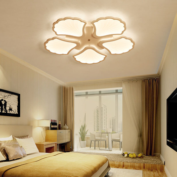 LED Modern Ceiling Lights Nordic Style Ceiling Lamps Remote Control Dimmable Color Change Acrylic Fixture Living Room - Wellhouselighting.com