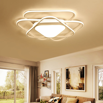 Modern Led Ceiling Lights For Living Room Bedroom Kitchen Lustre de cristal Dining room luminaire plafonnier led lamp