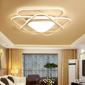 Modern Led Ceiling Lights For Living Room Bedroom Kitchen Lustre de cristal Dining room luminaire plafonnier led lamp - Wellhouselighting.com