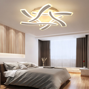 Remote control led ceiling light with Ultra-thin Acrylic lamp ceiling bed room flush mount lamparas de techo