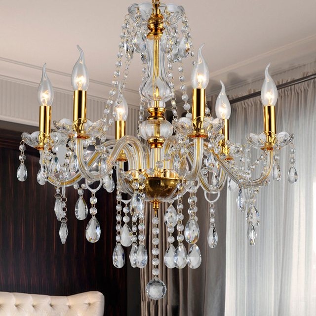 Gold chandeliers for sale gold dining room light ( WH-CY-01)