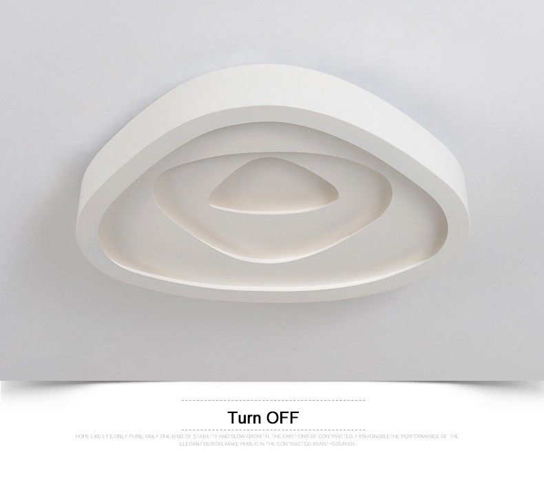 Modern ceiling lights for living room lamp Bedroom lamparas de techo colgante moderna with Remote controller
