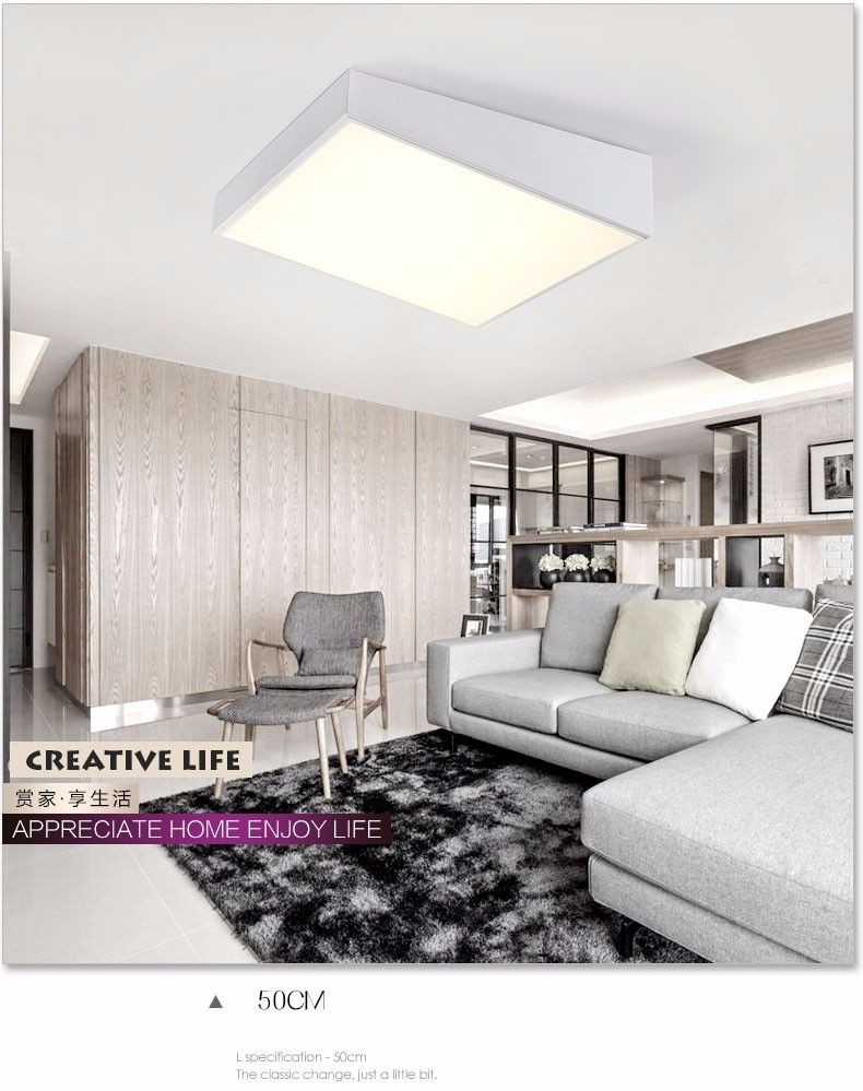 Ceiling led lights for home lighting iluminacion For Bedroom Living room Kitchen plafonnier led  modern ceiling lights